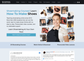 shoemakingcoursesonline.com