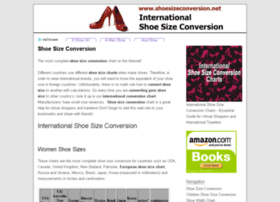 shoesizeconversion.net