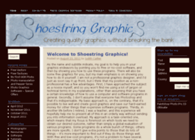 shoestringgraphics.com