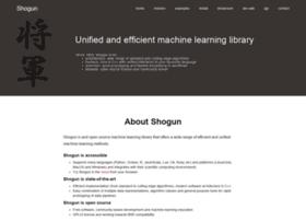 shogun-toolbox.org