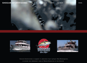 shogunsportfishing.com