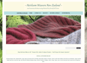 shop-heirloomweavers-nz.com