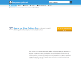 shop-to-date-pro.programas-gratis.net