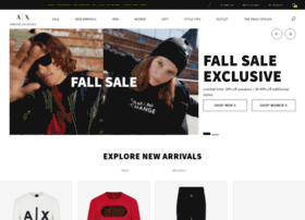 shop.armaniexchange.com