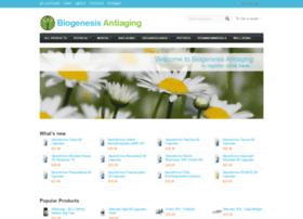 shop.biogenesis-antiaging.com