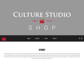 Shop.culturestudio.net