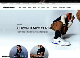 shop.descentekorea.co.kr