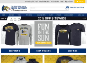 shop.drexeldragons.com