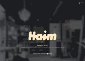 shop.haimtheband.com