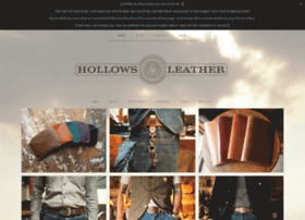 shop.hollowsleather.com