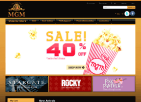 MGM Store - MGM Home Page