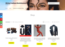 shop.michaeljacksonreminiscence.com