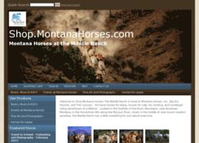 shop.montanahorses.com