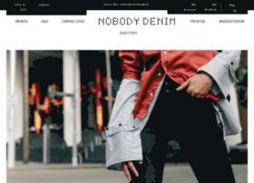 shop.nobody.com.au