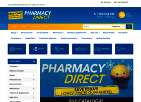 shop.pharmacydirect.com.au