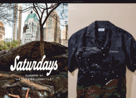 shop.saturdaysnyc.co.jp
