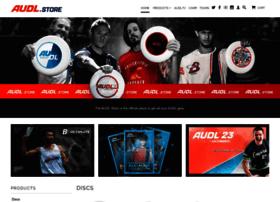Shop.theaudl.com
