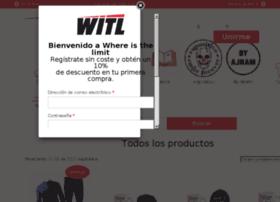 shop.whereisthelimit.com