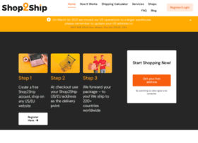 shop2ship.in