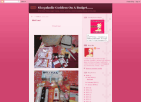 shopaholigoddessonabudget.blogspot.com