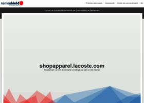shopapparel.lacoste.com