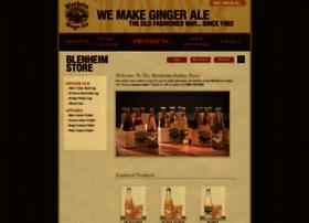shopblenheimgingerale.com