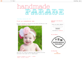 shophandmadeparade.blogspot.com