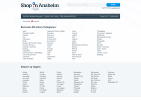 shopinanaheim.com