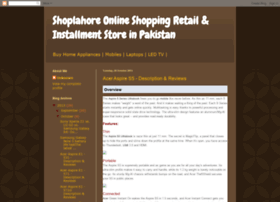 shoplahorepk.blogspot.com