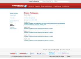 shoppersdrugmart.mediaroom.com