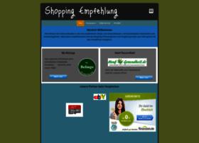 shopping-empfehlung.de