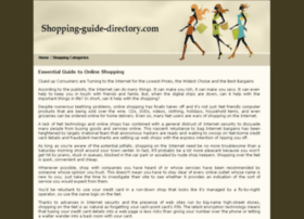 shopping-guide-directory.com