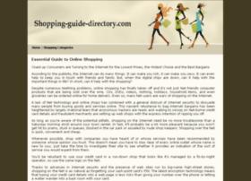 shopping-guide-directory.com