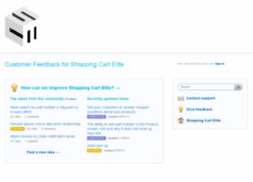 shoppingcartelite.uservoice.com