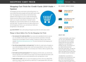 Shoppingcarttrick.net