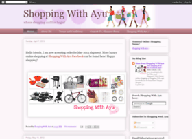 shoppingwithayu.blogspot.com