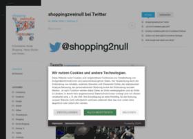 shoppingzweinull.blogspot.com