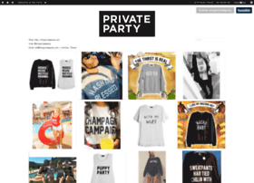 shopprivateparty.tumblr.com