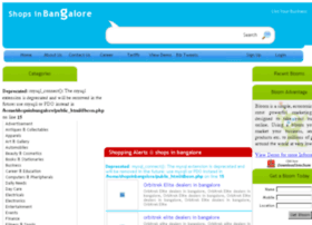 shopsinbangalore.com