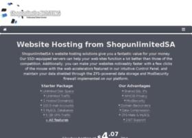 Shopunlimitedhosting.com