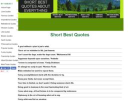 shortbestquotes.com