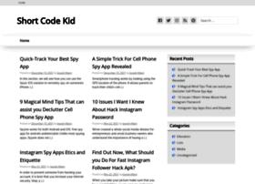 shortcodekid.com