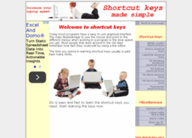 shortcut-keys.com