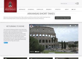 shorttakes.uark.edu