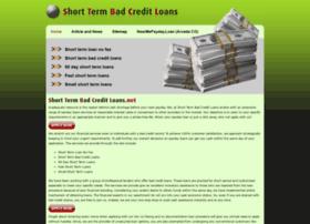shorttermbadcreditloans.net