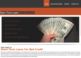 shorttermloansforbadcredit4u.com