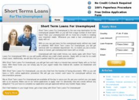 shorttermloansforunemployed.co.uk