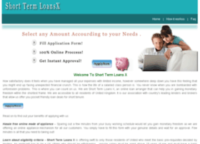 shorttermloansx.co.uk