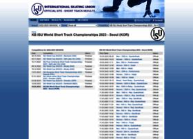 shorttrack.sportresult.com