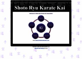shotoryukarate.co.uk